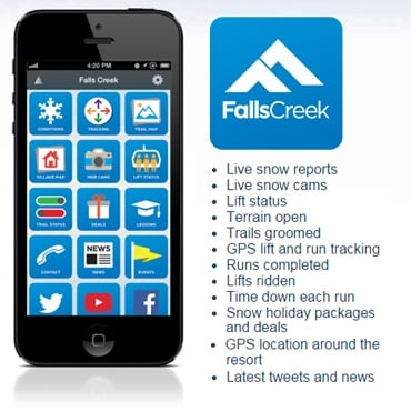 Falls Creek, Smart Phone App